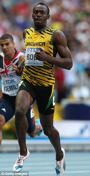 The study of Jamaican youngsters found those whose legs, and particularly knees, match in size grow up to be the keenest and best sprinters
