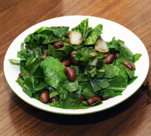Dark green salad