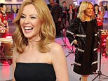 'I was suddenly taken by the fact I was going into theatre': Kylie Minogue's cancer op felt familiar to her life in the spotlight