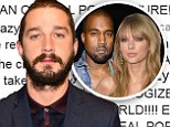 Making a Twit of himself! Shia LaBeouf's plagiarism odyssey continues... as he channels Kanye West to tweet apology to Taylor Swift