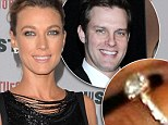 EXCLUSIVE: 'I love my ring': Justified's Natalie Zea shows off diamond sparkler from fiancé Travis Schuldt... and spills details of proposal