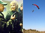 Giffords skydive