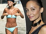Super skinny Nicole Richie 'back down to 88lbs by living on diet of sunflower seeds, celery, juice and chewing gum'