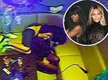 Beyonce and her BFF Kelly Rowland 'photobomb' surprised fans in Miami karaoke bar