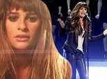 Coming up soon: Lea Michele released a preview of the music video for the lead single, Cannonball, off her upcoming album on Wednesday
