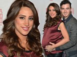 Any day now! Kevin Jonas' pregnant wife Danielle is ready to pop but still manages to squeeze into a pair of tight leather pants