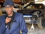 Late-night talk show host Arsenio Hall caused at least $15,000 worth of damage to brand new Porsche in LA crash