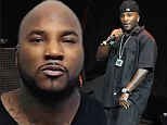 Mug shot: Young Jeezy was booked into an Atlanta jail on Friday after being charged with battery, false imprisonment and making terroristic threats against his own son