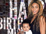'Happy Birthday Miss Carter!' Beyoncé shares homemade cards from fans as she helps Blue Ivy celebrate turning two