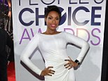 Hudson, we do NOT have a problem! Jennifer rocks space-age dress to receive humanitarian People's Choice Award