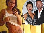 'I felt a loss like no other when I thought I was no longer pregnant': Jersey Shore's JWoww reveals early scare... as she shows off flat stomach at four months along