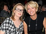 Meryl Streep cosies up to Emma Thompson before presenting her with best actress gong at National Board Of Review Awards