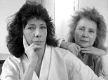 Happy occasion: Writer Jane Wagner (right) quietly married her longtime actress paramour, Lily Tomlin (left) on New Year's Eve it has emerged