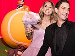 Gone to the dogs! Kaley Cuoco shares picture of groom Ryan Sweeting's wedding cake featuring her beloved pit bulls