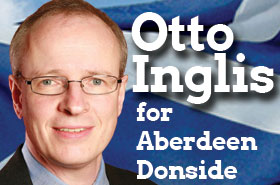 Otto Inglis for Aberdeen Donside