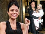 Couldn't find a sitter? Bethenny Frankel bundles up her sleepy girl Bryn to visit Jimmy Fallon's late night talk show