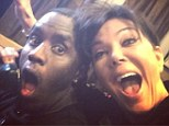 Hanging out with Diddy: Fame loving Kris Jenner posted a snapshot of herself hanging out with Sean 'Diddy' Combs on her Instagram on Wednesday