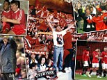 All change: When Kenny Dalglish quit Liverpool the speed of their collapse was devastating - with Sir Alex Ferguson gone, Man United must remember history