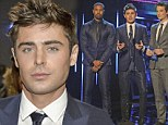The heartthrob is BACK! Zac Efron cuts a handsome figure as he makes his first red carpet appearance since jaw injury