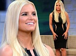 'I want to be the best role model': Jessica Simpson says she's 'so proud' of her weight loss while showing the results in tight dress