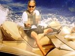Glenn Lieberman is pictured on a jet ski, clearly not as incapacitated as he claimed to be in his benefit filing