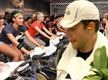 Should Soul Cycle turn the music down? Bradley Cooper resorts to earplugs as he takes a spin class