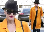 Mellow yellow! Pregnant Gwen Stefani once again seeks some rest and relaxation through acupuncture