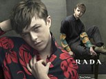 Rising star: Dane Dehaan has been cast as Prada's spring/summer 2014 menswear star