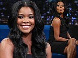 Gabrielle Union is in good spirits as she larks around during first TV appearance since love child drama with fiance Dwyane Wade
