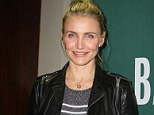 Diet overhaul: Cameron Diaz has admitted that an unhealthy junk food habit caused her teenage acne