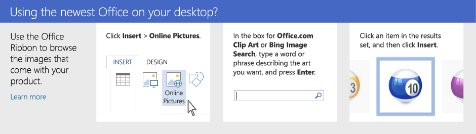 Using Office 365 on your desktop?