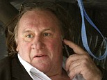 Claims: Gerard Depardieu allegedly hurled buckets of water onto customers of a bar beneath his holiday home