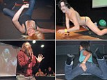 Faking it: World Air SEX championships where contestants simulate sex in front of live audience heads to Britain