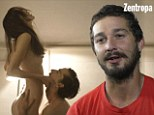 'They reacted with fear': Shia LeBeouf revealed he was asked to send pictures of his penis for consideration in Nymphomaniac