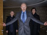 Nemesis: Benedict Cumberbatch is to get a new nemesis in Sherlock, with The Killing star Lars Mikkelsen guest starring in Sherlock