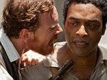 Hateful: Michael Fassbender screams at Chiwetel Ejiofor