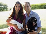 The much-anticipated first official family portrait after the birth of Prince George, which, true to Kate's family orientated nature was snapped by her father