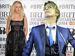 Star: Bowie, who celebrated his 67th birthday yesterday - competes for best album and is shortlisted for best male, while chart-topping stars Robbie Williams and Gary Barlow fail to get a nod