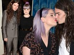 'It's an amicable split': Kelly Osbourne and fiancé Matthew Mosshart part company just a month after she gushes 'it's true love'