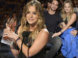 'This is the second best thing that's happened to me all year': Kaley Cuoco praises husband Ryan Sweeting after scooping People's Choice Award