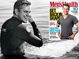 Cover shot: Matt Damon graced the cover of the January/February issue of Men's Health