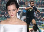 Emma Watson 'dating Oxford University rugby star' following split from long-term love Will Adamowicz