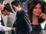 Courteney Cox ducks into West Hollywood hotel with rumoured boyfriend Johnny McDaid