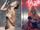 Miley and Britney have been banned from French TV before 10pm