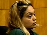Sickening: Viviana Gunn, 34, was sentenced today to more than 31 years in prison after pleading guilty to torturing a 13-year-old boy last year with a variety of tools and methods