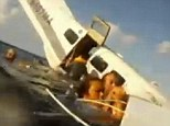 A passenger recorded a plane crash that happened last month in the Hawaiian islands between Molokai and Oahu