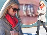 Four-time engaged Bachelorette star Emily Maynard showcases her FIVE diamond-studded bands in North Carolina
