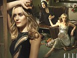 The ladies of Orange Is the New Black swap their prison jumpsuits for designer duds in romantic ELLE spread