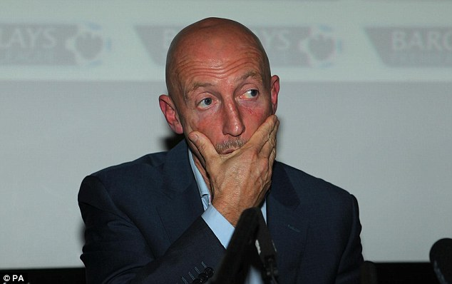 Game over: Ian Holloway left Crystal Palace this week after a poor start to the Premier League season