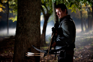 Daryl in woods